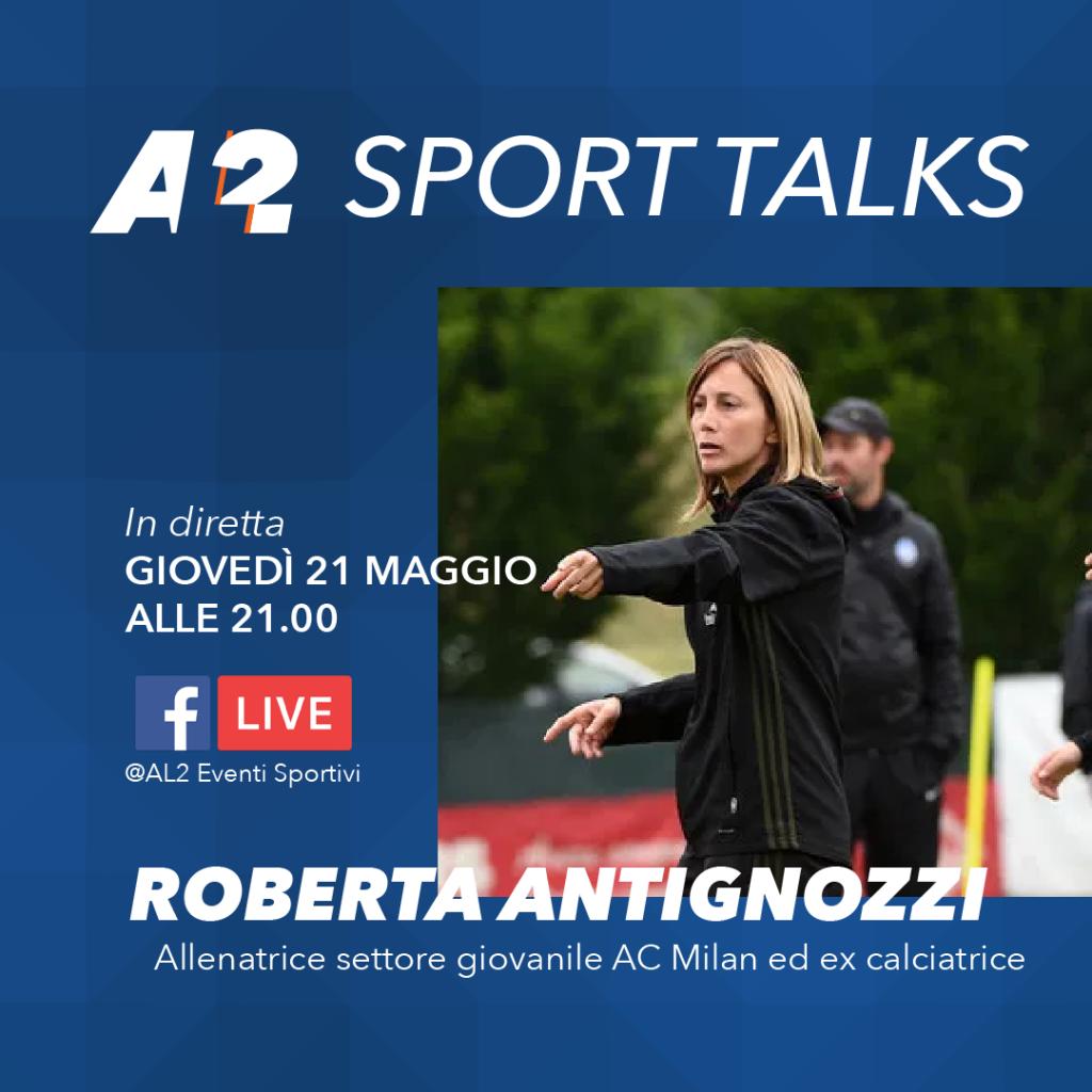 Roberta Antignozzi Sport Talks
