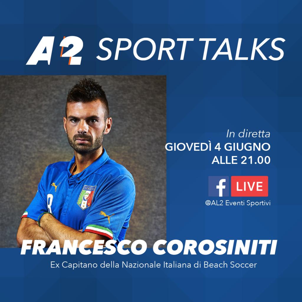 Francesco Corosiniti Sport Talks