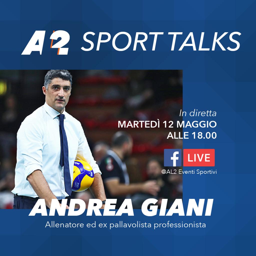 Andrea Giani Sport Talks